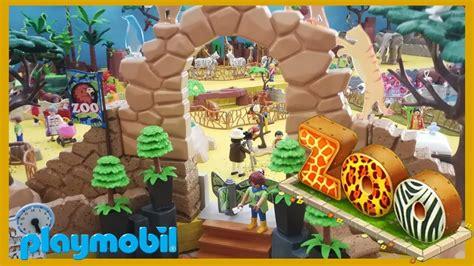 Playmobil Zoológico Una Mañana en el Zoo  Exposición ...