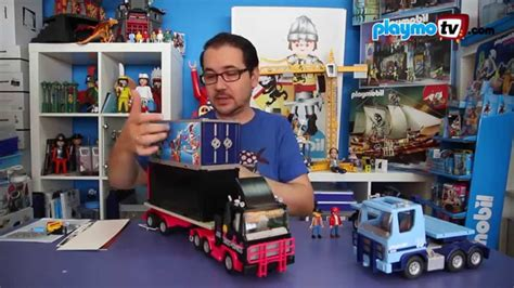 PlaymoTV   Camiones de PLAYMOBIL   YouTube
