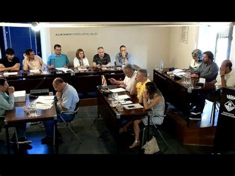 Ple Ajuntament Castellar Vallès juny 2018   YouTube