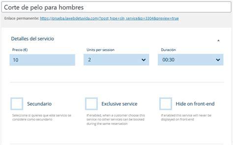 plugin reservas wordpress español gratis   La web de tu vida