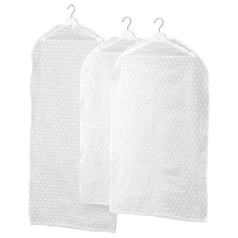 PLURING Funda para ropa, blanco transparente   IKEA