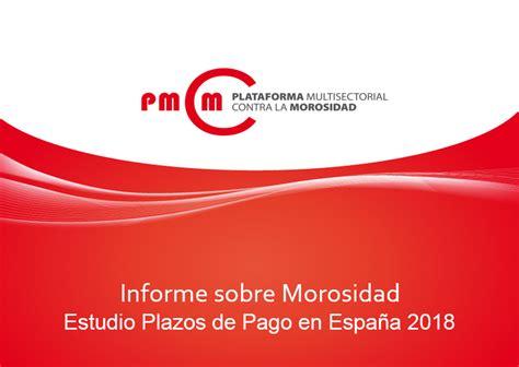 PMcM | Publicamos nuestro  Informe sobre Morosidad ...
