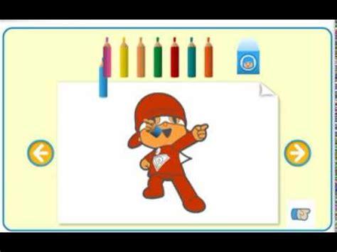 POCOYÓ GAMEPLAY   Dibujos para pintar, colorear y ...