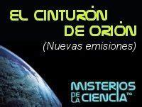 Podcast El Cinturón de Orión  nuevas emisiones  en ...