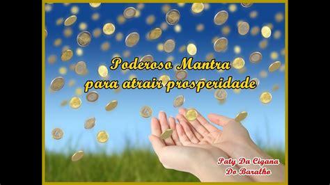 PODEROSO MANTRA PARA A PROSPERIDADE   YouTube