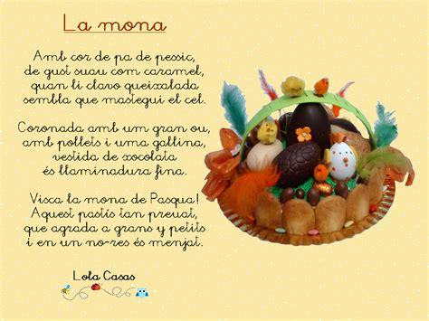 Poema en català   La mona, de Lola Casas   Estrategias de ...