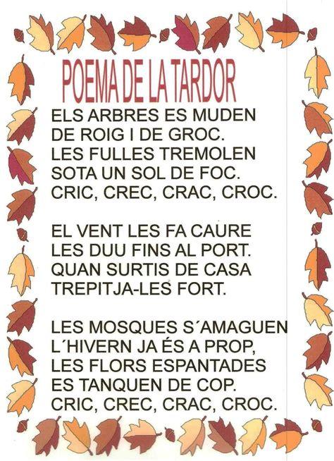 poema en català tardor primaria   Búsqueda de Google ...