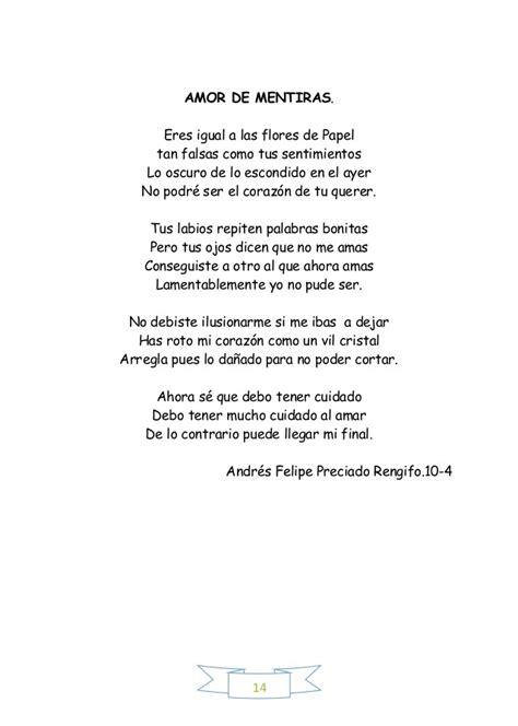 poema inventado de 14 estrofas porfavorr   Brainly.lat
