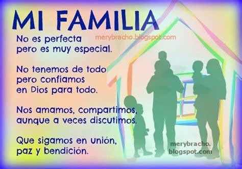 Poema mi familia   Imagui