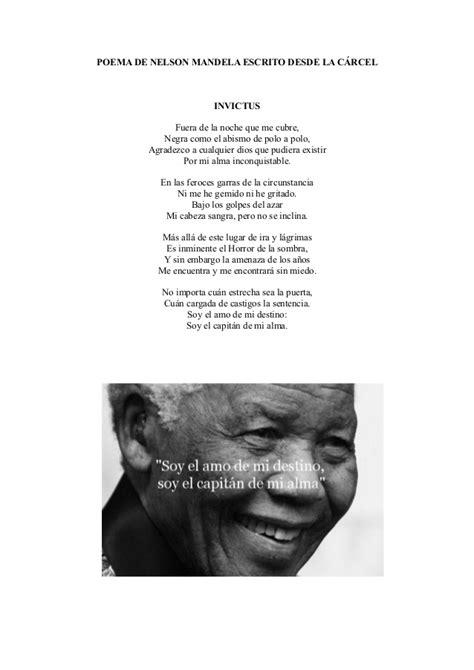Poema nelson mandela