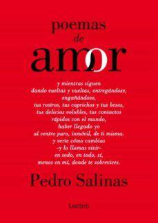 POEMAS DE AMOR | PEDRO SALINAS | Comprar libro 9788426423788