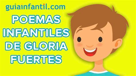 Poemas de Gloria Fuertes para niños   Poesía animada ...