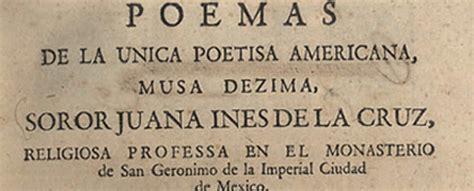 Poemas de Sor Juana Inés de la Cruz