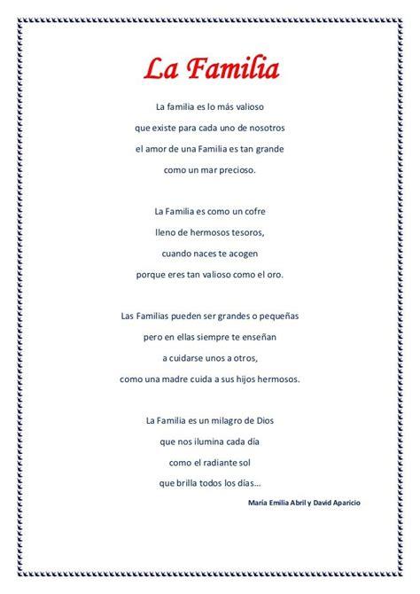 poemas para la familia | Poemas para la familia, Poemas ...