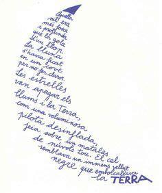 poemes en català   Cerca amb Google   Caligramas, Poemas ...