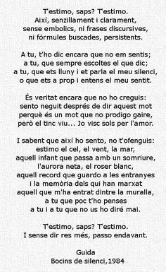 poemes en catala per la mare   Buscar con Google | Frases ...