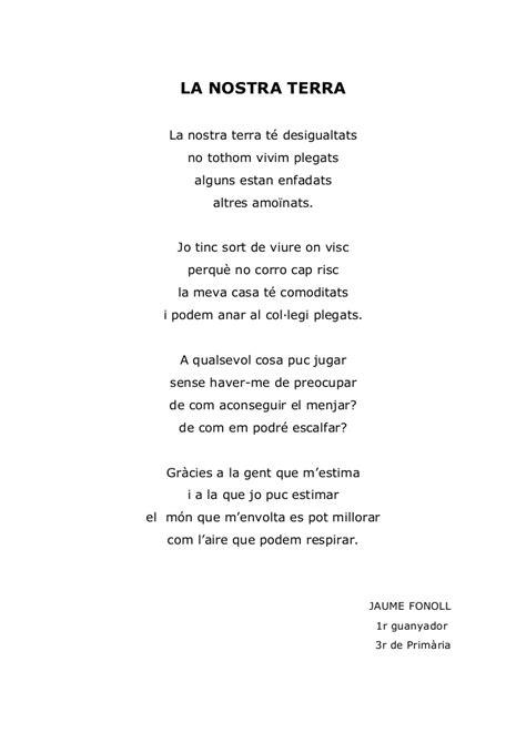 Poemes Jocs Florals Escola