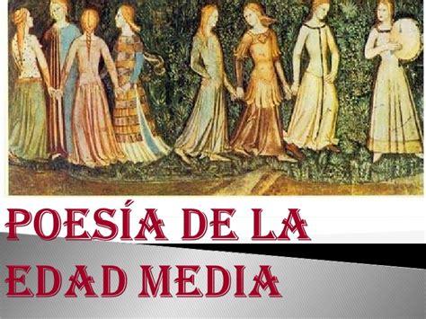 Poesía Edad Media