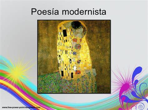 Poesía modernista