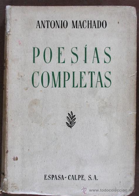 poesias completas. antonio machado   Comprar Libros ...
