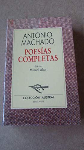 Poesias Completas by Machado Antonio   AbeBooks