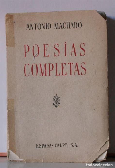 poesías completas de antonio machado   7ª edici   Comprar ...