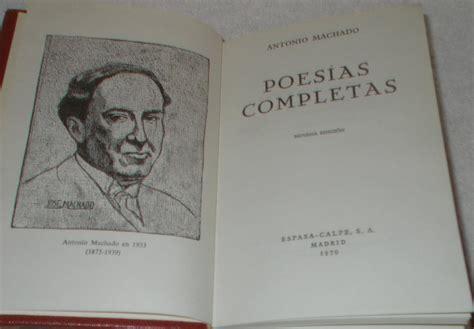 Poesías completas par Machado, Antonio: Muy bien ...
