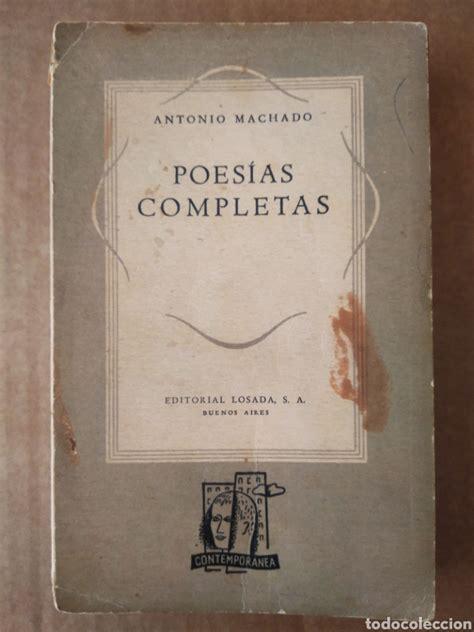 poesías completas, por antonio machado  losada,   Comprar ...