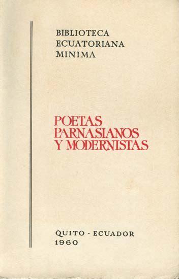 Poetas parnasianos y modernistas | Biblioteca Virtual ...