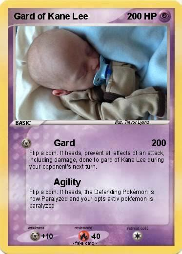 Pokémon Gard of Kane Lee   Gard   My Pokemon Card