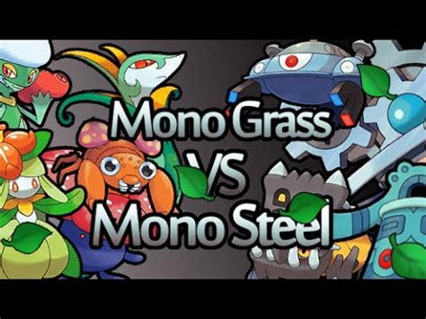 Pokemon XY Wifi battle   Mono grass v Mono steel   YouTube