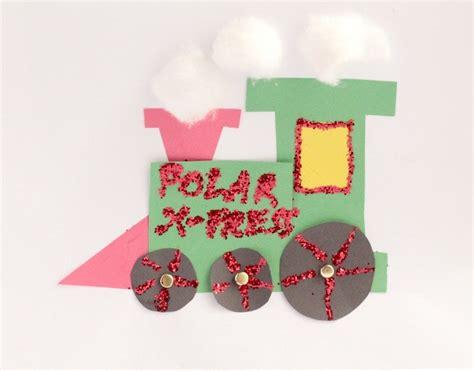 Polar Express Train Craft for Preschool or Kindergarten