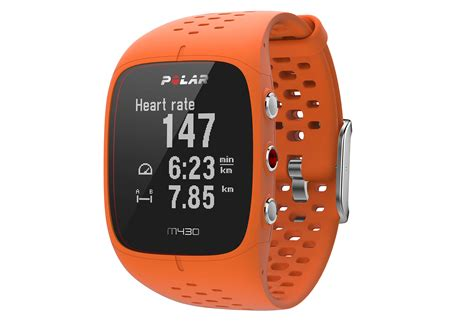 Polar M430 GPS Watch Orange | Alltricks.com