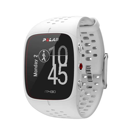 Polar M430 GPS Watch With Optical Heart Rate White Small ...