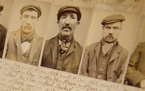 Police release photographs of the real Peaky Blinders ...