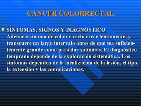 Polipos de colon y recto cancer colorectal