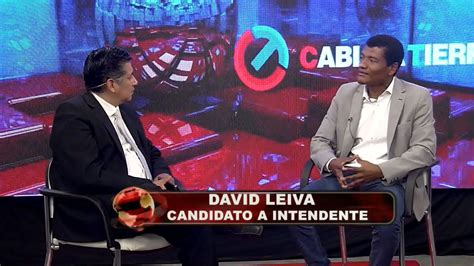 Política / LEIVA:  ESTOY DONDE QUERÍA ESTAR, Y VOY A GANAR ...