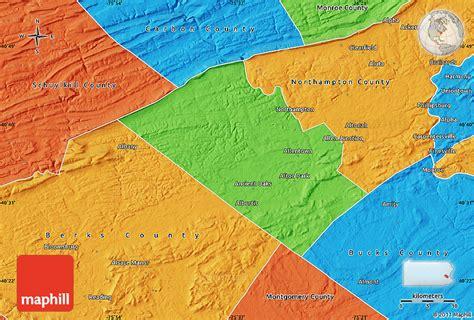 Political Map of Lehigh County