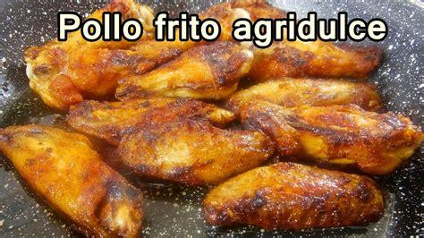 POLLO FRITO AGRIDULCE FACIL   Recetas de Cocina Faciles ...