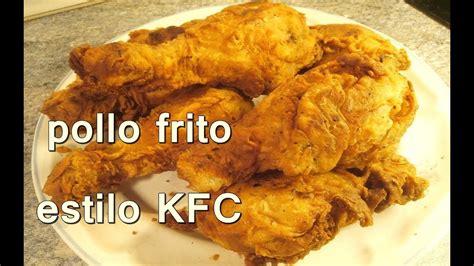 POLLO FRITO ESTILO KENTUCKY FRIED CHICKEN. KFC   Recetas ...