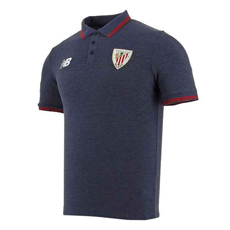 Polo oficial Athletic Club Bilbao 17 18 azul | futbolmania