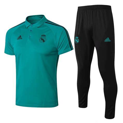 Polo Real Madrid 2018/2019 Verde » Mi Camiseta Futbol