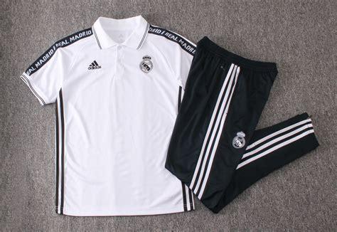 Polo Real Madrid 2019/2020 Kit Blanco Letras» Mi Camiseta ...