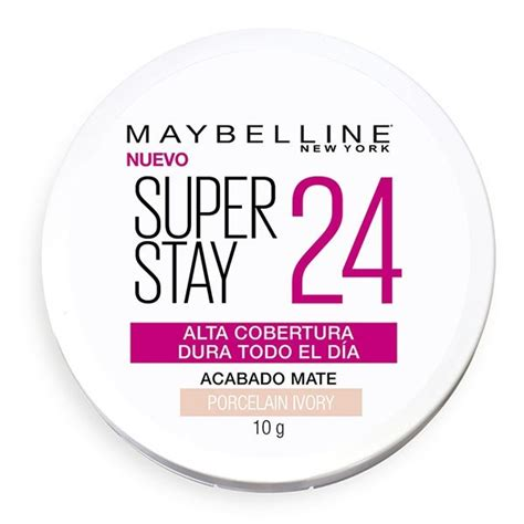 Polvo Compacto Maybelline Super Stay 24hs Porcelain Ivory ...
