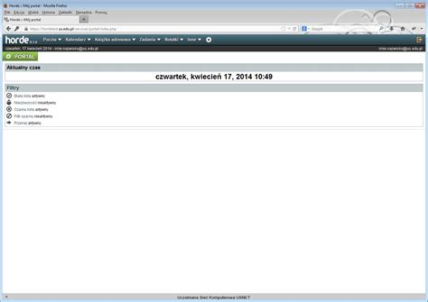 Pomoc dla nowej wersji poczty Webmail    Horde ...