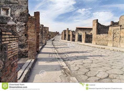Pompeii Ancient Roman Ruins Stock Photo   Image of stone ...