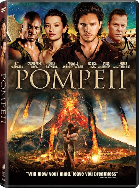 Pompeii DVD Release Date May 20, 2014
