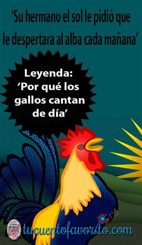 Por qué los gallos cantan de día, una leyenda filipina  ...