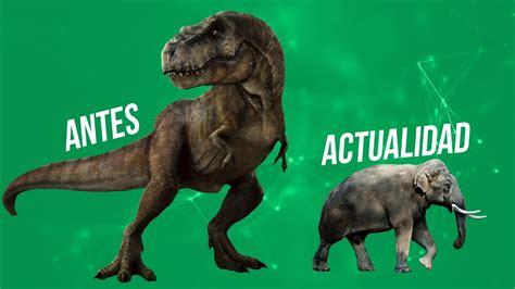 Porque en la actualidad no hay animales tan grandes como ...