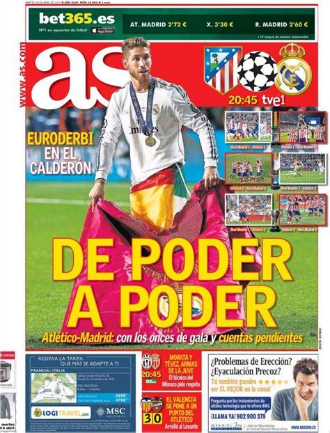 Portada AS 14/04/2015 | Atleta, Liga española de futbol, Messi